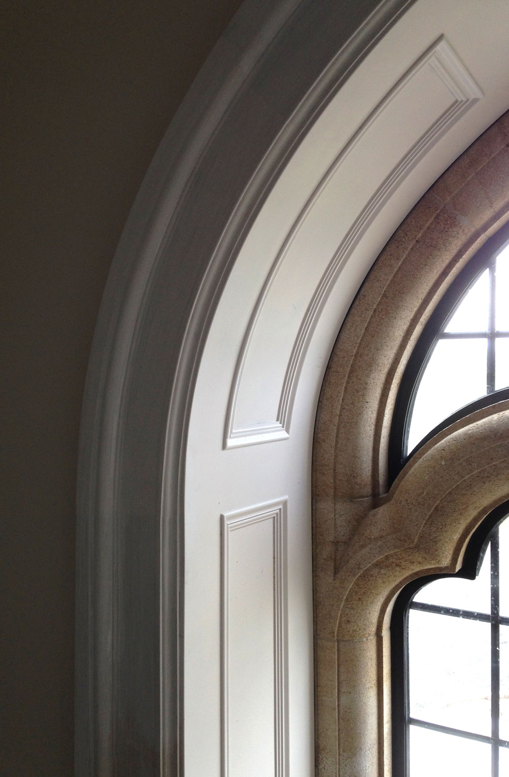Mouldings and panelling