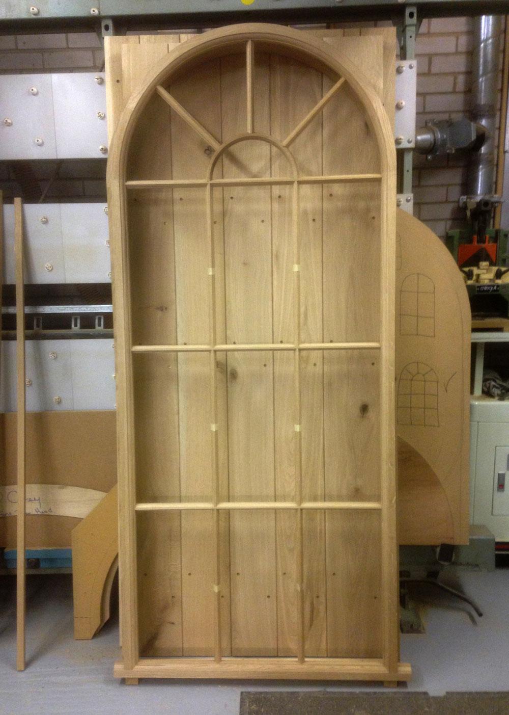 Window Manufacture Georgian Oak